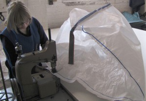Heavy Duty Sewing at Polypropylene Products